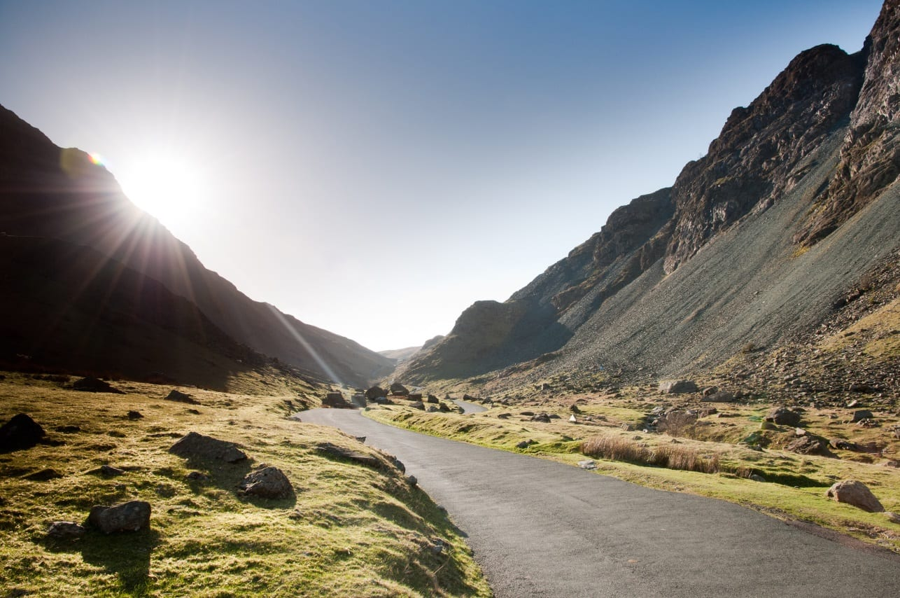 Scenic drives in Cumbria