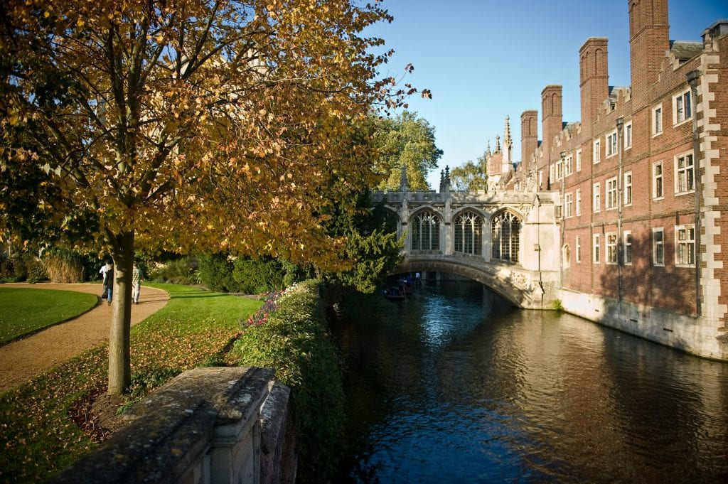 Bridge of Sighs over the River Cam