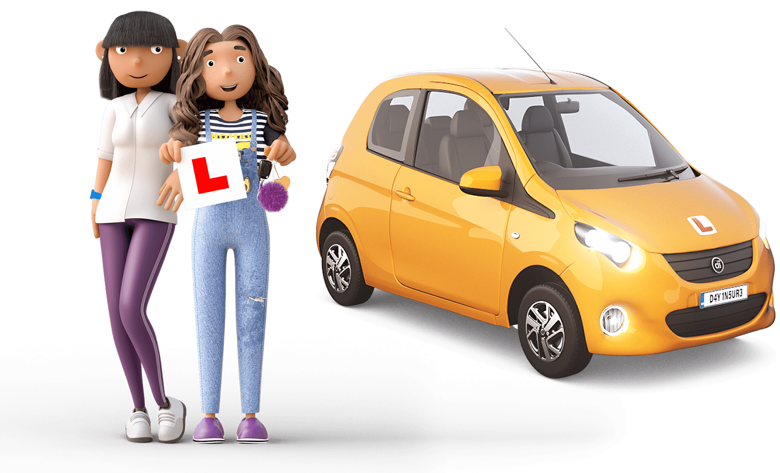 Dayinsure mum and learner driver