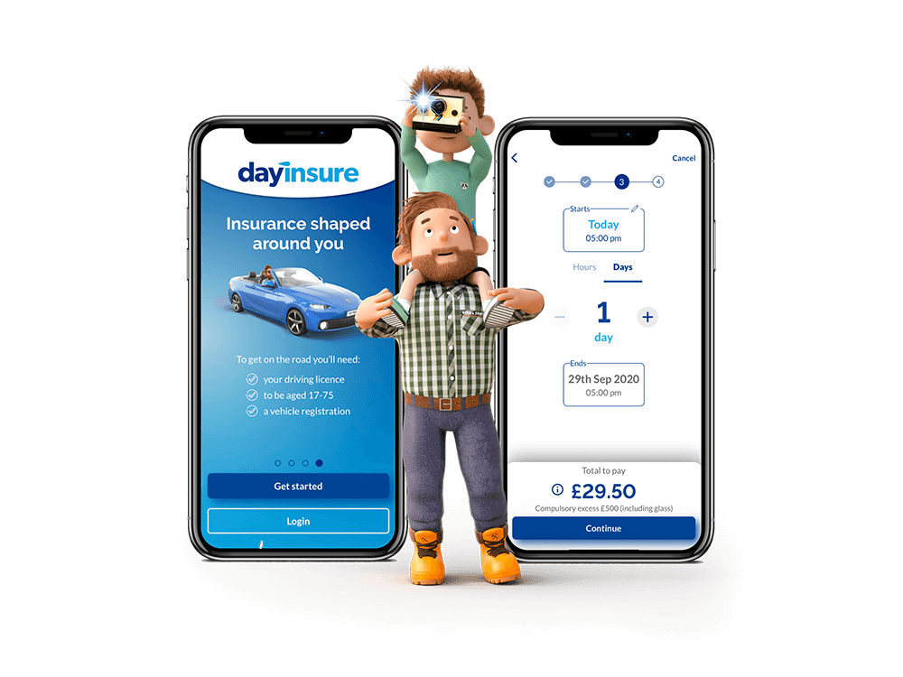 Dayinsure car insurance app
